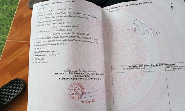 Ban dat Dak Nong – gan truong Nguyen Tat Thanh