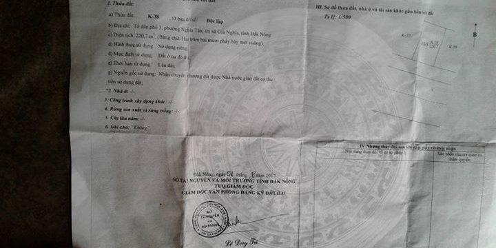 Đất tái định cư bộ đội biên phòng – bán đất Đắk Nông
