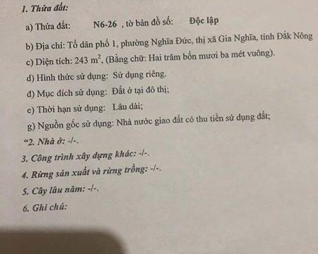 Bán đất tái định cư Nguyễn Khuyến